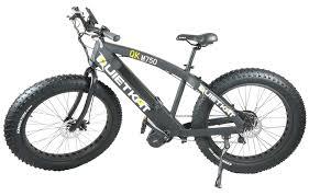 amazon com quietkat fatkat 750 w electric fat tire mountain bike
