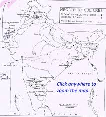 India On Map by The Stone Age The Early Man Notes General Knowledge