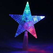 popular led christmas star tree topper buy cheap led christmas