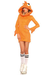 leg avenue cozy goldfish costume small orange amazon co uk
