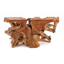 Rustic Teak Coffee Table Rustic Teak Root Console Table