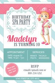 best 25 spa party invitations ideas on pinterest kids spa party