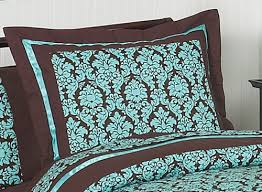 Turquoise Comforter Set Queen Turquoise And Brown Bella Children U0027s U0026 Teen Bedding 3 Pc Full