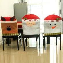 Christmas Chair Back Covers Dinner Room Chairs Promotion Shop For Promotional Dinner Room