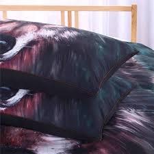 wolf bed set wolf bedding set 3d duvet set novelty finds