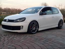 my 2nd mk6 stopped playing around with rep wheels got myself