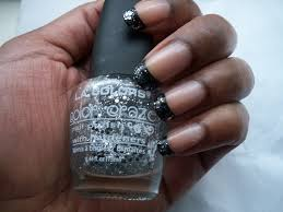 glitter polish french tips u003d fun times for me lacquerglamour