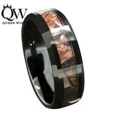 mens camo wedding bands 2017 mens 8mm black tungsten wedding bands celtic design