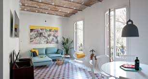 holiday apartment interior design barcelona style