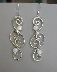 wire earrings the 25 best wire earrings ideas on diy earrings wire