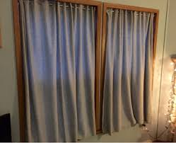no sew fleece insulated curtains a decorating hack diy crafts