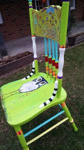 Repurposing Old Furniture by 424 Best Painted Chair Ideas Images On Pinterest Painted