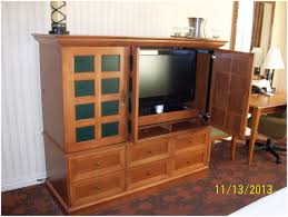 Computer Armoire With Pocket Doors by Tv Stands Tv Armoire With Doorsc2a0 Fantastic Photo Ideas Corner