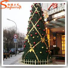 Wholesale Giant Christmas Decorations by Chinese Wholesale Giant Plastic Pvc Christmas Tree Ornament With
