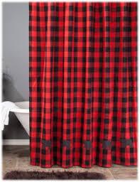 Check Shower Curtain Park Designs Buffalo Check Shower Curtain Bass Pro Shops