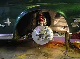 mustang struts rrs strut front suspension conversion done 100kb pic vintage