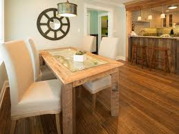 How To Make A Dining Room Table How To Build A Reclaimed Wood Dining Table How Tos Diy