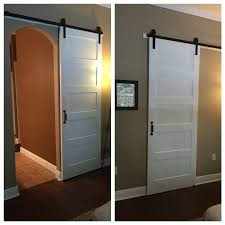 modern barn door for arched doorway door http www homedepot