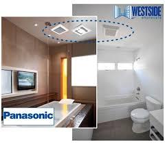 Panasonic Bathroom Exhaust Fan 8 Best Bathroom Ventilation Images On Pinterest Bathroom Fans A