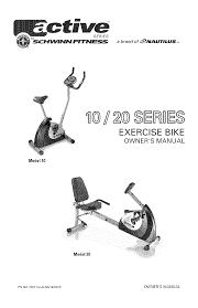 schwinn exercise bike 10 user guide manualsonline com