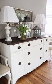 Dining Room Buffets And Sideboards by Best 25 Painted Buffet Ideas On Pinterest Refinished Buffet