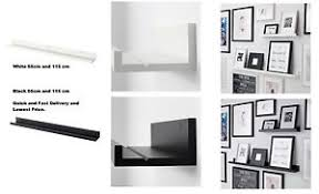 Ikea Picture Ledge Ikea Mosslanda Picture Photo Ledge Rail Shelf Black U0026 White 55cm