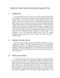 sample trip report template eliolera com