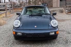 1990 Porsche 911 Carrera 84 537 Miles Blue Coupe For Sale Photos