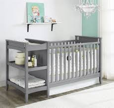 Storkcraft Portofino Convertible Crib And Changer Combo Espresso by Easily Life Of Baby Cribs With Changing Table Attached All