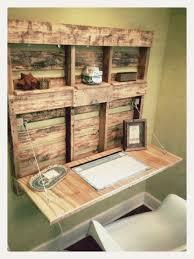 fabriquer un bureau en palette des projets de bricolage de palettes à faire soi même faire soi
