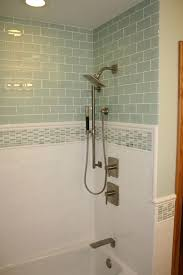 Tile Designs For Bathroom Best 25 Glass Tile Bathroom Ideas Only On Pinterest Blue Glass