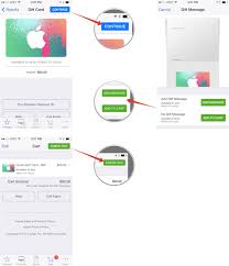 how to send an itunes or apple store gift card with the apple