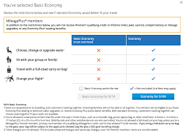 United Airlines Baggage Receipt United U0027s Basic Economy Discussion Q U0026a Page 129