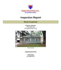 sample house inspection report sample home inspection reports mold report radon test report