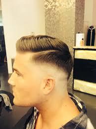 razor fade pompadour by gg gg hair pinterest razor fade and