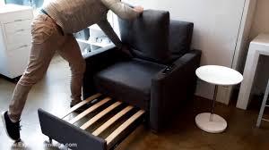Folding Sleeper Sofa Armchair Homcom 5 Position Folding Sleeper Chair Grey Sleeper