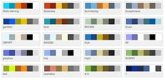 Color Design Palette How To Find The Perfect Color Palette For Your Website There You