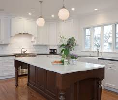 kitchen island hanging pot racks coffee corner ideas kitchen traditional with pendant lighting