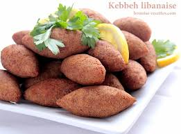 cuisine libanaise facile kebbeh ou kebbe entree libanaise