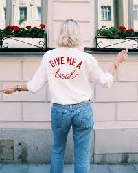 buy sweatshirt give me a break sweatshirt womens sweater mens