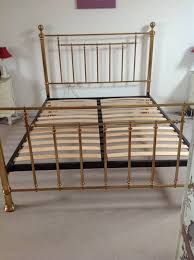 king size brass bed in didcot oxfordshire gumtree