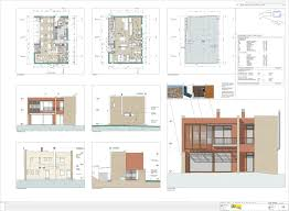 build in stages house plans project rural hotel development in matarraña aragon spain