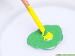4 ways to make green wikihow