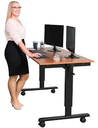 Sit To Stand Desk by Several Advantages Of Stand Up Computer Desk Signin Works