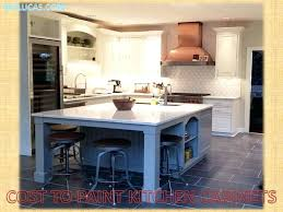 how much does it cost to paint cabinets average cost to paint kitchen cabinets bestreddingchiropractor