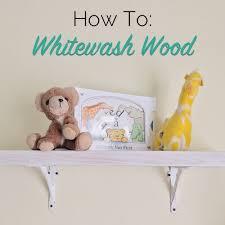white wash wood how to whitewash wood the craftsman blog