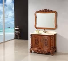living room furniture classic solid wood font b bathroom b font cabinet jpg
