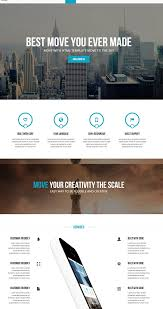 one page parallax template free 28 images template syntaxis