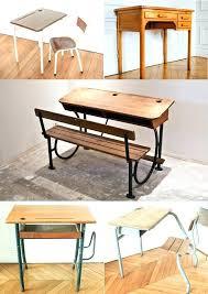 bureau ecolier bois bureau ecolier bois bureau decolier pupitre ecolier bois ancien