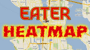 Map Queen Anne Seattle by Eater Seattle Heat Map Dec U002711 Where To Eat Right Now